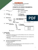 Apostila de Revisão - Operações Básicas - Matemática Aplicada - Professora Suselaine