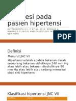 Anestesi Pada Pasien Hipertensi