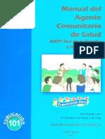 AIEPI Nut de la Familia y la Comunidad Manual del Agente Comunitario de Salud