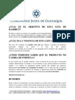 Ecuador Kosher List