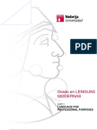 Lengua Fines Profesionales Bilingue