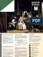 Spanish Studies Brochure 2013