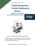 Past Perfect Progressive Story 2