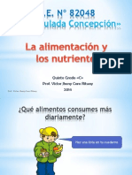 la alimentacion y nutrientes