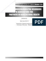 CHRONIC MUSCULOSKELETAL DISORDERS IN AGRICULTURE FOR PARTNERS IN AGRICULTURAL HEALTH