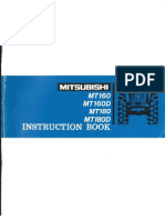 Mitsubishi MT160-180 Instruction Book Optimized