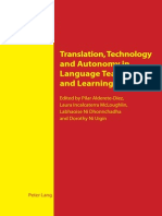 Translation, Technology and Autonomy in Language Teaching and Le