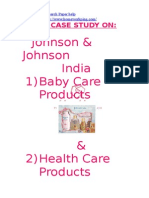 48800345 Johnson n Johnson Case Study