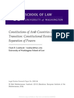 Constitutions of Arab Countries in Transition_Constitutional Review and Separation of Powers