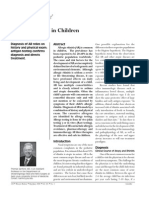Allergic Rhinitis in Children