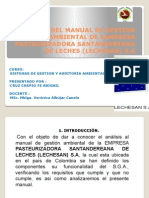 Analisis Del Manual de Gestion Ambiental de Lampresa