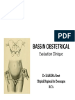 Bassin Obstetrical:Evaluation clinique