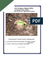 Evaluación Ecológica Rapida de Zolotoff Medina 2005