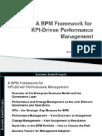 A BPM Framework for KPI Driven Performance Management v1r4