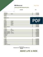 BMW Motorrad COL - Lista Precios 05.05.2015 - AC
