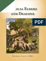 Nehemiah Coxe - Biblical Elders and Deacons