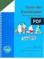 Guia del Facilitador Capacitación de Agentes Comunitarios de Salud en AIEPI Nut de la Familia y la Comunidad