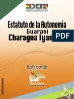 Estatuto Autonómico Indígena Charagua Santa Cruz.