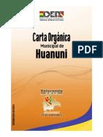 Carta Orgánica Huanuni, Oruro