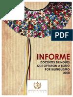 BONO Bilinguismo 2008
