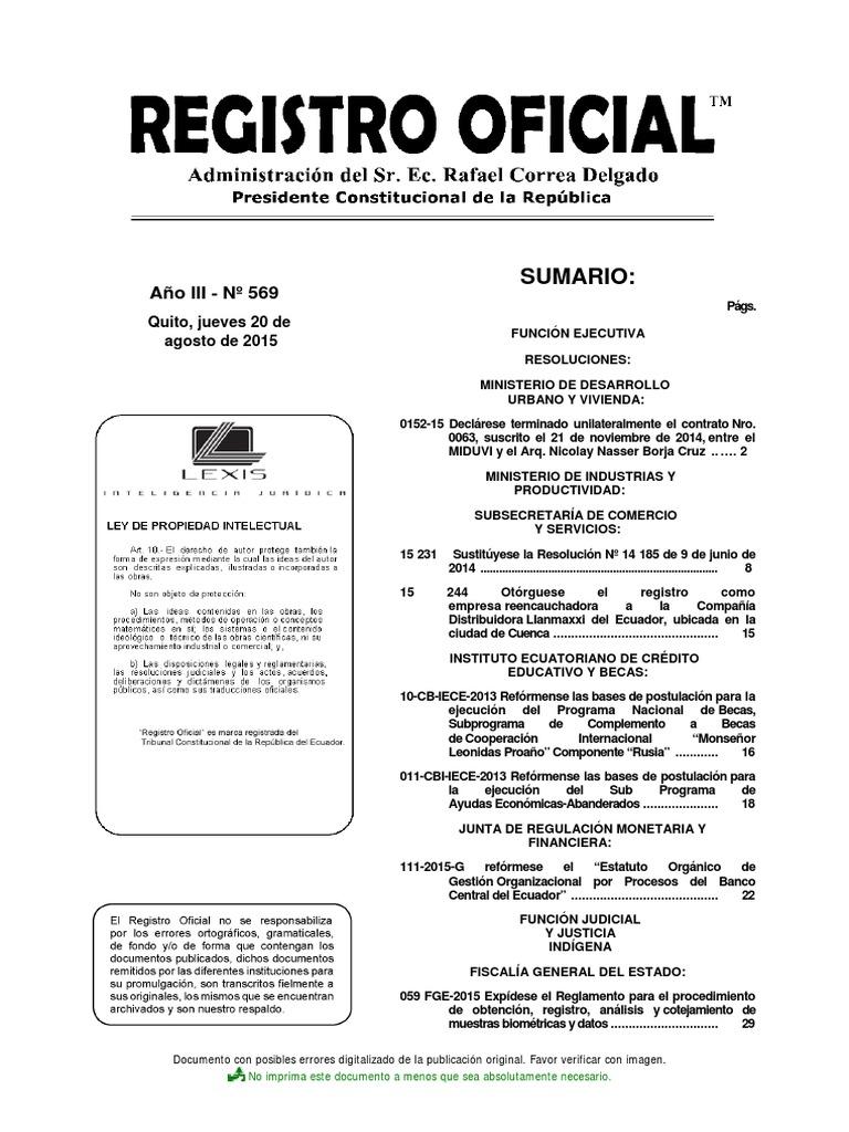 Varias Normativas de La Fiscalía General Del Estado