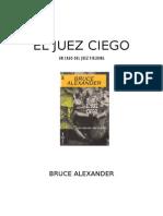 El Juez Ciego - Bruce Alexander