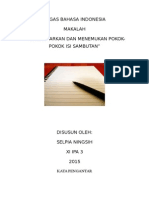 Tugas Bahasa Indonesia Pia