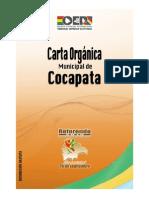 Carta Orgánica Cocapata, Cochabamba