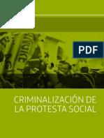 Criminalizacion de La Protesta 2014 15