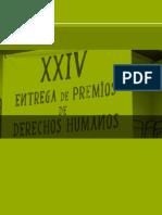 Institucionales Premios DDHH 2014 15