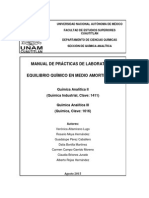 Manual de Prácticas Química Analítica 2