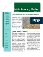 Newsletter March 2010 - Spanish