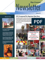 Streamwood Newsletter, September 2015