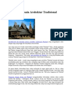 Mengenal Desain Arsitektur Tradisional Thailand