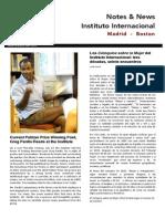 Ingles Americano en Madrid /Noticias junio 2015