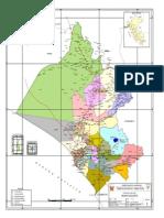 Mapa Politico Departamento de Lambayeque