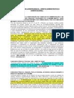 Atualização de Jurisprudência - Direito Administrativo e Constitucional (Dia 18 de Abril)