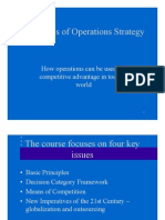 Principles of Operations Strategy