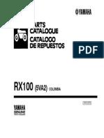 Manual de servicio yamaha RX 100
