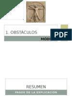 1. Obstaculos
