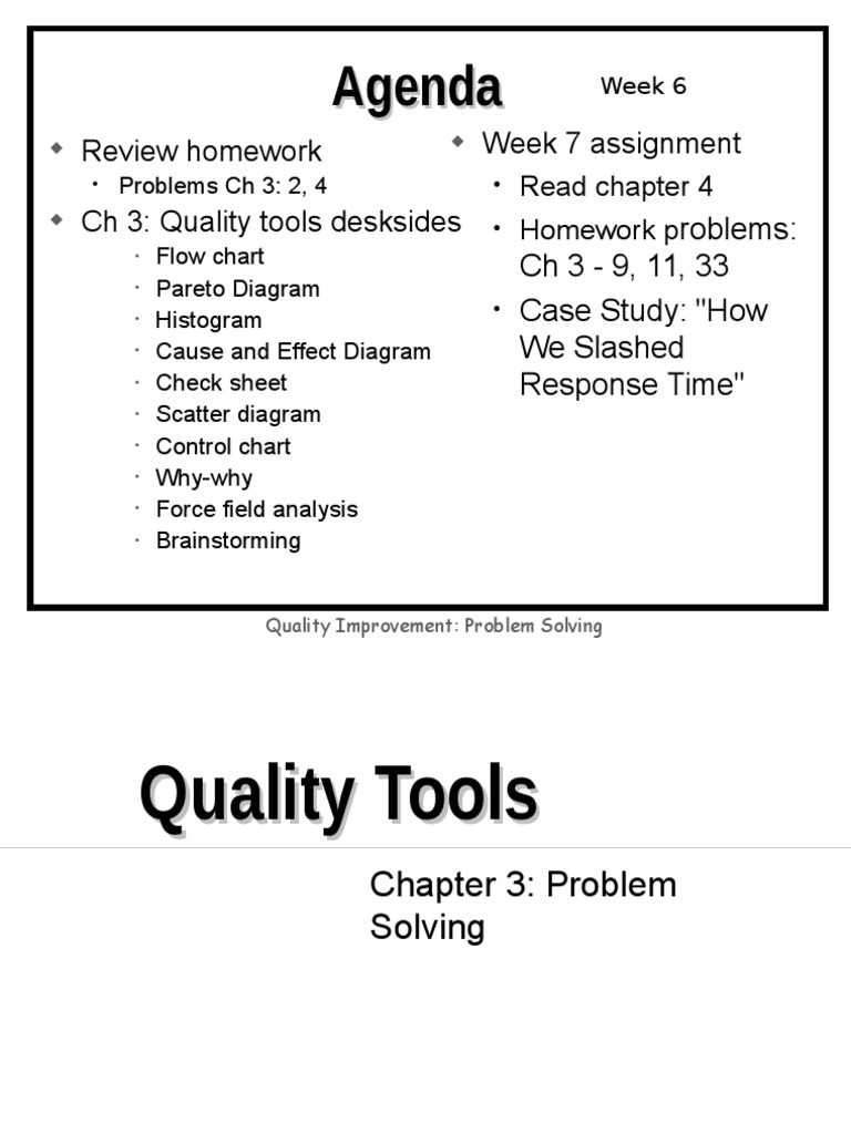 application of 7 qc tools case study Hp quality center (qc), a test management tool, is now popularly known as application life cycle management (alm) tool, as it is no longer just a test management tool but it supports various phases of the software development life cycle hp-alm helps us to manage project milestones, deliverables.
