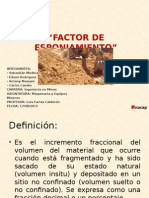 Factor Esponjamiento 2