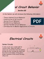 Electrical Circuit Behavior