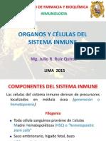 Organos y Células Del Sistema Inmune Segunda Clase 2015