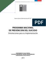 Programa Nacional Prevencion