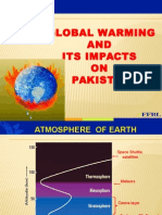 Global Warming & Its Impacts on Pakistan _1