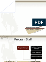 2015 Training Fund Presentation - Training Focus PDF