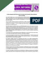 12 años del Informe final de la CVR - Flora Informa