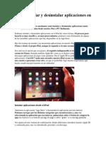 Cómo Instalar y Desinstalar Aplicaciones en El iPad