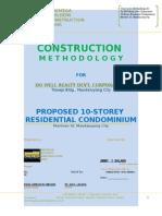 Ten Storey Construction Methodology